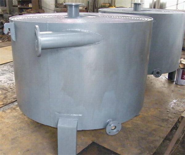 立式螺旋板式换热器